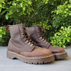 Brown Leather Dr. Martens